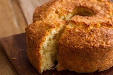 Simples e prático bolo de goma de tapioca