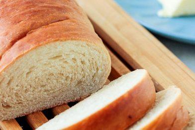 Receita de pão caseiro muito simples