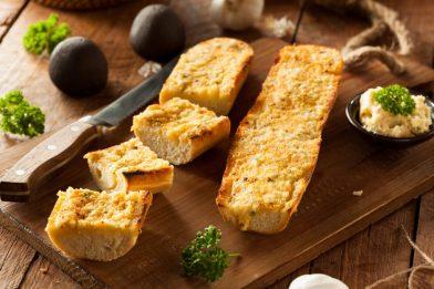 A melhor receita de pão de alho caseiro