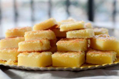 Delicioso bolo de queijo