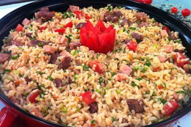 Receita fácil de arroz tropeiro