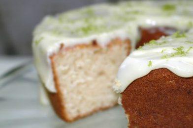 Calda de limão para bolo muito simples