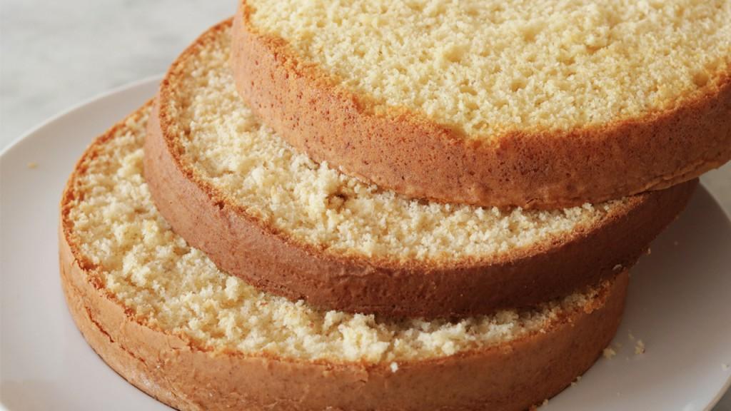 bolo massa branca