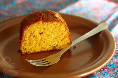 O melhor bolo de milho de lata cremoso