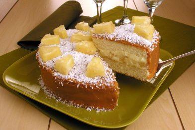 O melhor recheio de bolo de abacaxi