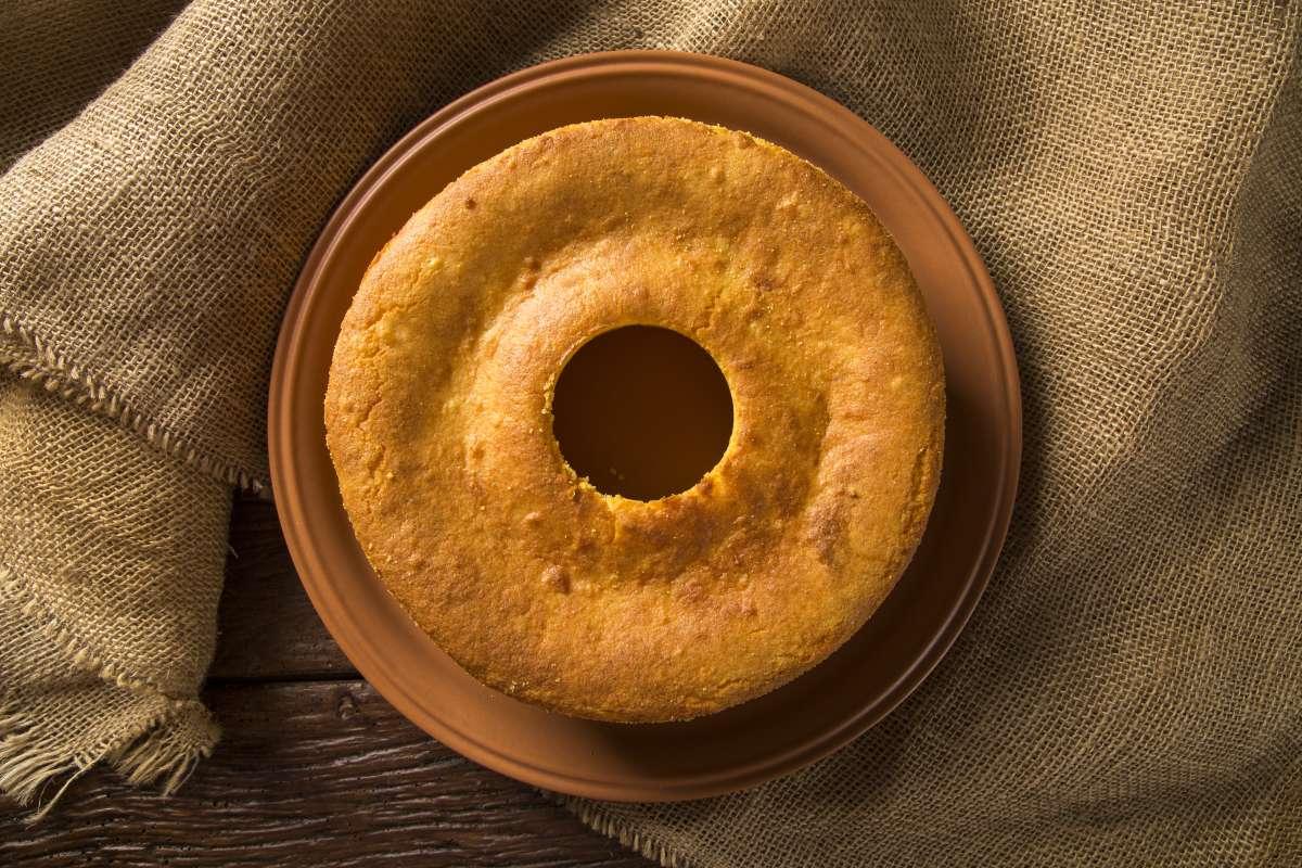 bolo de goma de tapioca