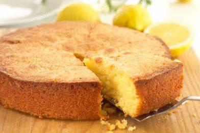 Receita de bolo sem manteiga muito simples