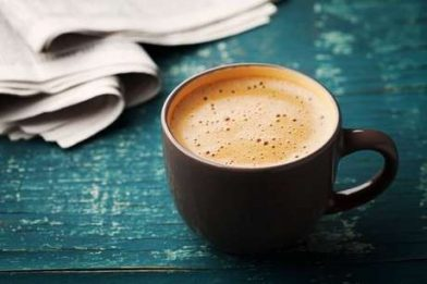 Delicioso e muito simples café cremoso