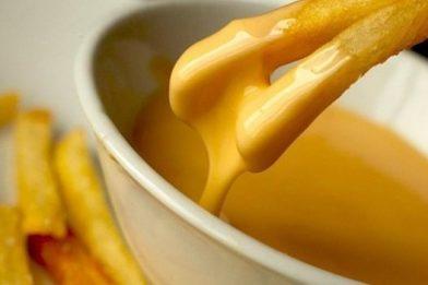 Delicioso molho de queijo passo a passo
