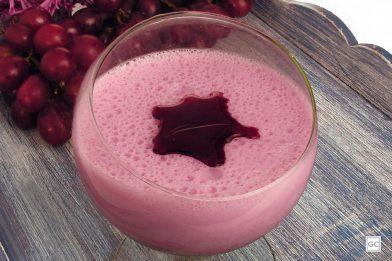 Sobremesa fácil - mousse de uva