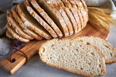Deliciosa receita de pão sem fermento