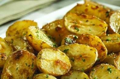 Deliciosa batata assada