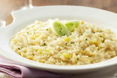 Prática receita de risoto