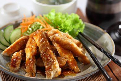 Deliciosa receita de frango teriyaki