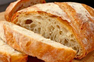 Delicioso pão italiano caseiro