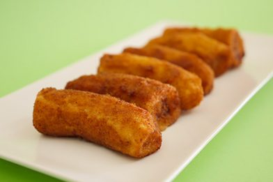 Banana empanada frita simples