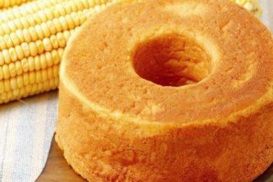 Bolo de milho verde fácil e prático