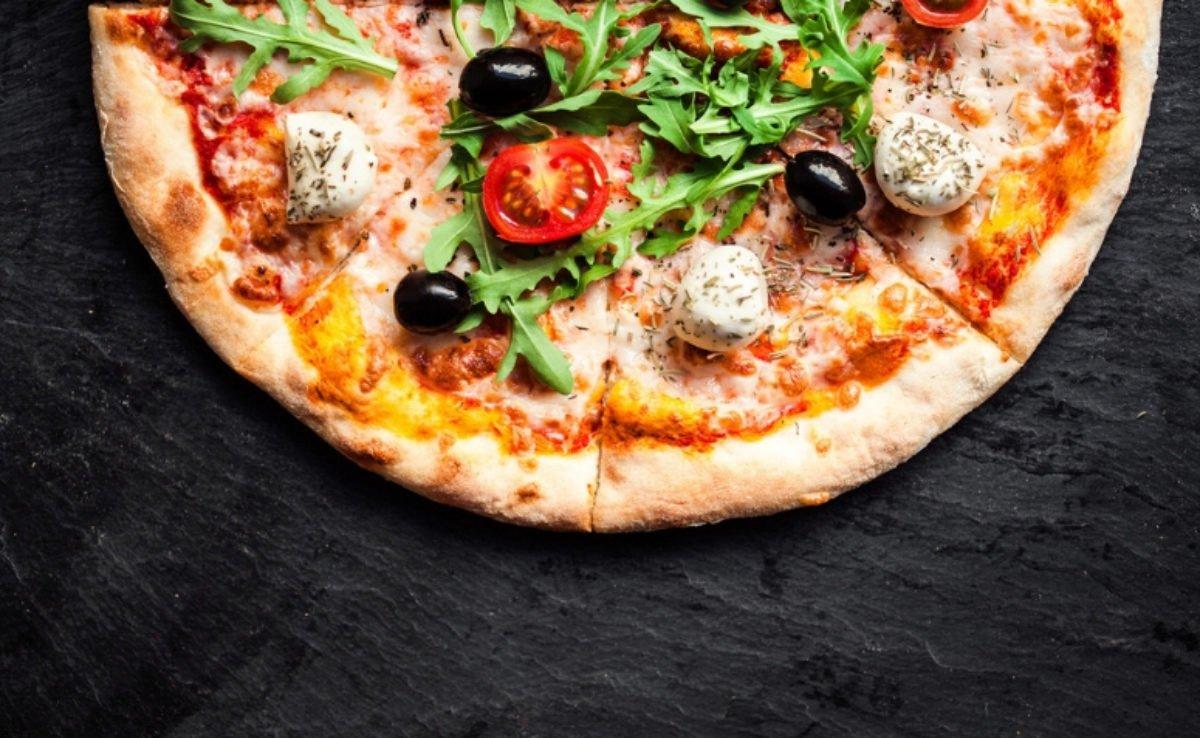 pizza de liquidificador crocante