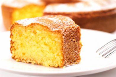 Receita de bolo de farinha de milho