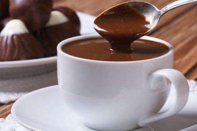 Chocolate quente receita rápida