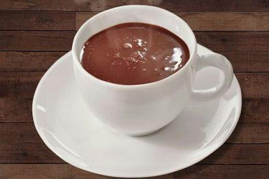 Receita de chocolate quente cremoso fácil