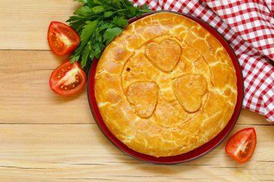Fácil receita de torta salgada de frango