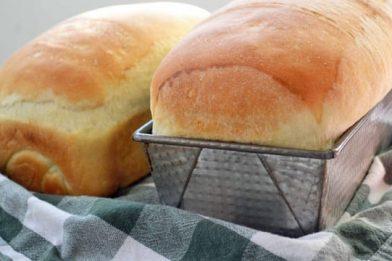 Receita de pão caseiro com fermento biológico seco