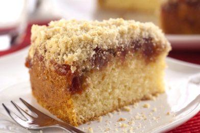Delicioso e muito simples bolo farofa