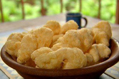 Biscoito frito muito simples e prático