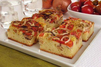 Receita torta salgada de calabresa